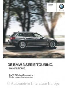 2015 BMW 3ER TOURING BETRIEBSANLEITUNG NIEDERLÄNDISCH