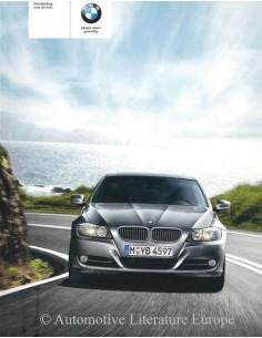 2008 BMW 3ER BETRIEBSANLEITUNG NIEDERLÄNDISCH