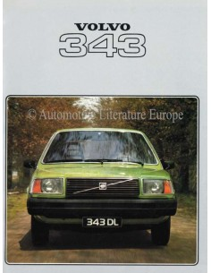1978 VOLVO 343 BROCHURE DUTCH