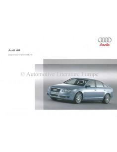 2006 AUDI A6 OWNER'S MANUAL DUTCH