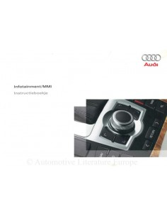 2006 AUDI OWNER'S MANUAL INFOTAINMENT MMI DUTCH