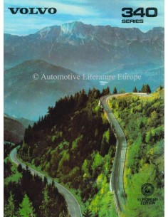 1980 VOLVO 340 BROCHURE ENGLISH