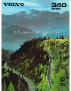 1980 VOLVO 340 PROSPEKT ENGLISCH