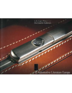 2013 ROLLS ROYCE ACCESSORIES BROCHURE GERMAN