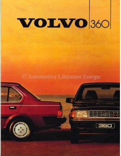 1984 VOLVO 360 BROCHURE GERMAN