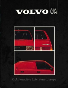1982 VOLVO 345 VAN BROCHURE DUTCH