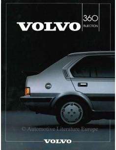 1984 VOLVO 360 INJECTION DATENBLATT NIEDERLÄNDISCH