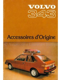 1977 VOLVO 343 ACCESSORIES BROCHURE FRENCH