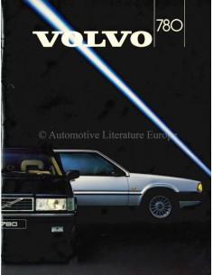 1987 VOLVO 780 BROCHURE DUTCH