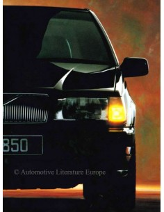 1991 VOLVO 850 BROCHURE DUTCH