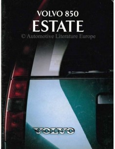 1993 VOLVO 850 ESTATE BROCHURE NEDERLANDS
