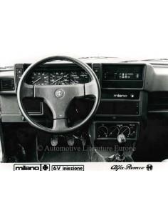 1986 ALFA ROMEO MILANO QV V6 INIEZIONE ARMATURENBRETT PRESSE BILD