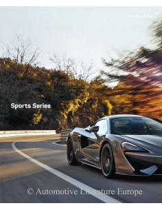 2018 MCLAREN 540C / 570S / 570GT SPORT SERIES BROCHURE ENGLISH