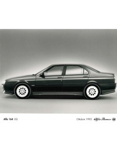1993 ALFA ROMEO 164 Q4 PRESS PHOTO