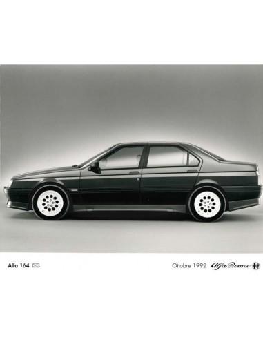 1993 ALFA ROMEO 164 Q4 PRESSE BILD