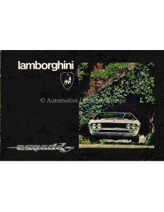 1974 LAMBORGHINI ESPADA III OWNERS MANUAL
