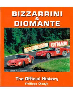 BIZZARRINI & DIOMANTE - THE OFFICIAL HISTORY - BOOK