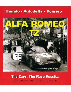 ALFA ROMEO TZ - THE CARS, THE RACE RESULTS - BOOK