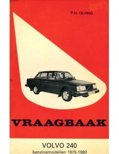 1975 - 1980 VOLVO 240 BENZIN REPARATURANLEITUNG NIEDERLÄNDISCH