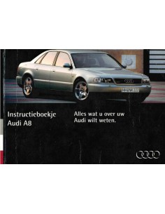 1994 AUDI A8 OWNERS MANUAL DUTCH