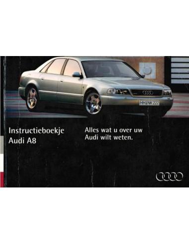 1994 AUDI A8 INSTRUCTIEBOEKJE NEDERLANDS