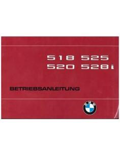 1979 BMW 5 SERIES OWNERS MANUAL GERMAN