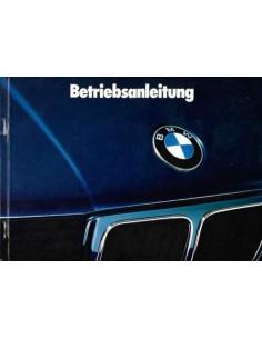 1991 BMW 5 SERIES OWNERS MANUAL GERMAN