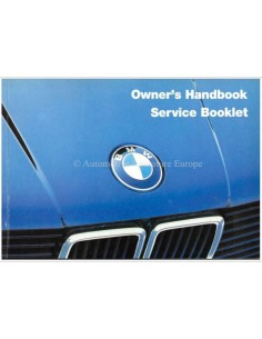 1985 BMW 3 SERIES OWNERS MANUAL ENGLISH (US)