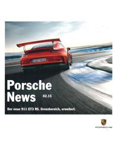 2015 PORSCHE NEWS BROCHURE