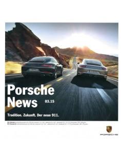 2015 PORSCHE NEWS PROSPEKT