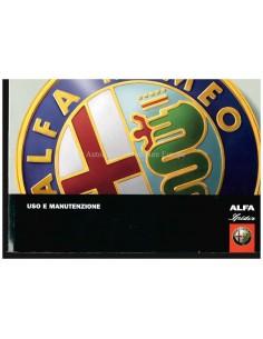 2006 ALFA ROMEO SPIDER INSTRUCTIEBOEKJE ITALIAANS