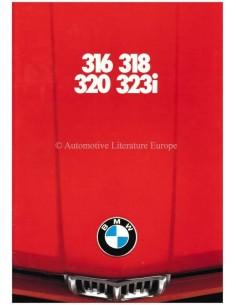 1980 BMW 3 SERIES BROCHURE DUTCH