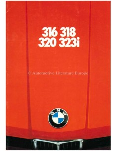 1978 BMW 3 SERIES BROCHURE DUTCH