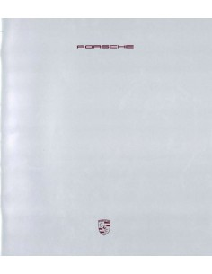 1989 PORSCHE BROCHURE GERMAN