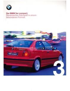 1998 BMW 3 SERIES COMPACT BROCHURE GERMAN