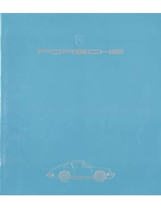 1984 PORSCHE 911 CARRERA TURBO BROCHURE GERMAN