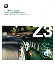 1998 BMW Z3 ROADSTER BROCHURE GERMAN