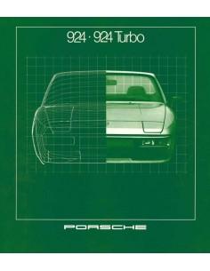 1981 PORSCHE 924 TURBO BROCHURE GERMAN