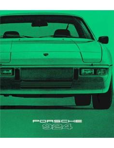 1979 PORSCHE 924 BROCHURE GERMAN