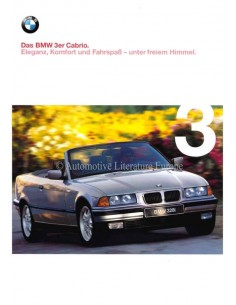 1998 BMW 3 SERIES CONVERTIBLE BROCHURE GERMAN