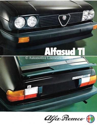 1980 ALFA ROMEO ALFASUD TI BROCHURE DUTCH