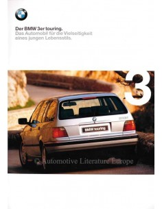 1998 BMW 3 SERIES TOURING BROCHURE GERMAN