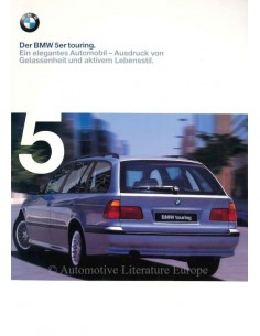 1998 BMW 5 SERIES TOURING BROCHURE GERMAN