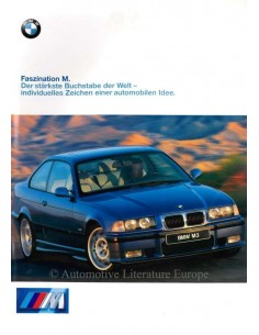 1997 BMW M3 BROCHURE GERMAN