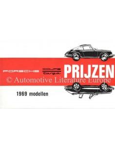 1969 PORSCHE 911 / 912 PRICE LIST DUTCH