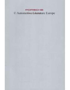 1991 PORSCHE 911 / 928 / 968 COLOURS & INTERIOR BROCHURE GERMAN
