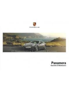 2012 PORSCHE PANAMERA GARANTIE & WARTUNG ENGLISCH