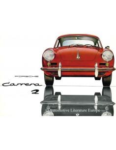 1963 PORSCHE CARRERA 2 PROSPEKT