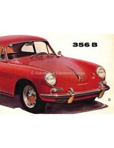 1960 PORSCHE 356 B PROSPEKT DEUTSCH