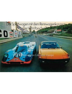 1971 VW-PORSCHE 914 PROSPEKT DEUTSCH
